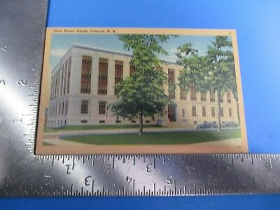 Vintage State House Annex Concord New Hampshire Metropolitan Post Card PC59