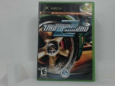 NEED FOR SPEED UNDERGROUND 2 Xbox Complete CIB Good