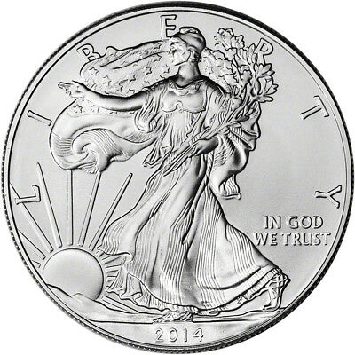 2014 American Silver Eagle - Brilliant Uncirculated