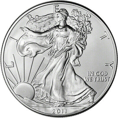 2011 American Silver Eagle - Brilliant Uncirculated