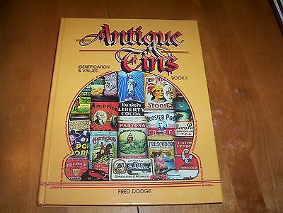 ANTIQUE TINS Identification & Value Book II 2 Product Tin Antiques Antique Book