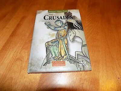 ANCIENT CIVILIZATIONS THE CRUSADES Discovery History Channel Middle Ages DVD NEW