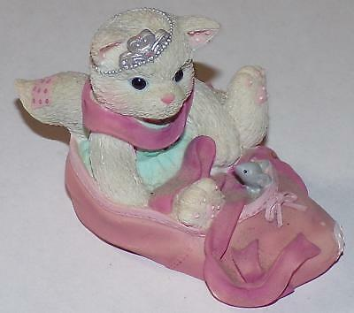 Enesco 2001 Calico Kittens We're Partners in the Dance of Life Figure Figurine