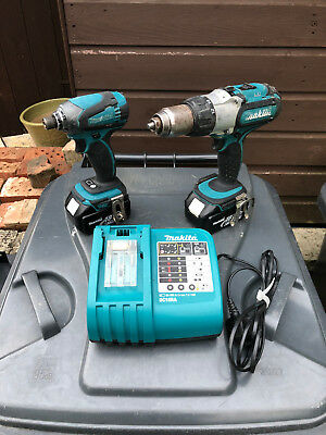 Makita LXT 18v 2x 3ah Twin Set. Seller Away Till 29/09/18!!!