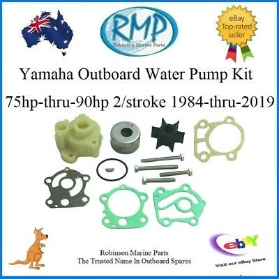 A Brand New Water Pump Kit Suits Yamaha Outboards 75hp-thru-90hp R 688-W0078 H