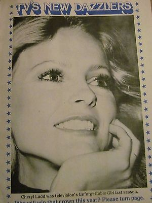 Cheryl Ladd, Charlies Angels, Full Page Vintage Pinup