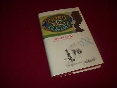 Charlie and the Chocolate Factory by Roald Dahl (1964) True 1st/1st Edition Book