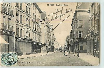 9369 - Troyes - Rue Notre Dame