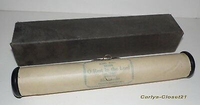 VINTAGE PIANO ROLL * Mendelssohn * O Rest In The Lord * From Elijah * Ballad *