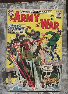 Our Army at War 152 DC  comic Sgt. Rock Kubert art 2nd eneky Ace