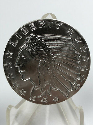 1 oz 999 Silber USA Incuse Indian Indianer Head Golden State Mint Eagle
