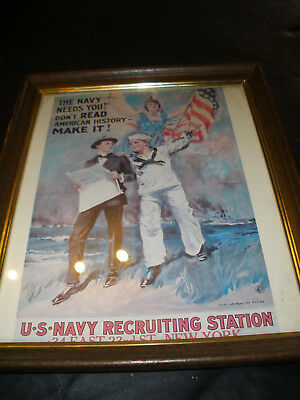 Barber Shop Wall Art ---Join The Navy-- No.16