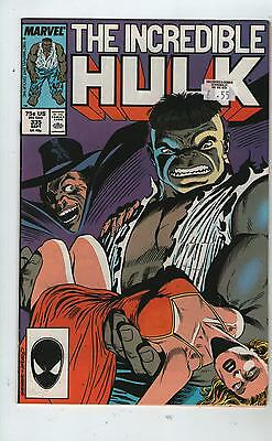 Incredible Hulk # 335 - The Evil That Men Do ( Ridgway Art - Ld 1987 )