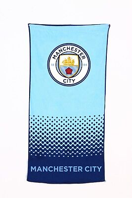 EXTRA LARGE Manchester City Football Club Beach Bath Towel Boys Kids Fans Gift