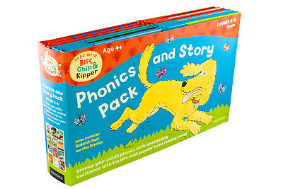 Read With Biff, Chip & Kipper Phonics 12 Books Childrens Collection By Annemarie