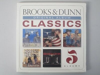BROOKS AND DUNN- 5 Of The Best Albums 5-CD NEW* Hillbilly Deluxe/Cowboy Town etc