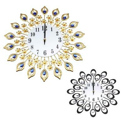 Antique Style Crystal Wall Clock