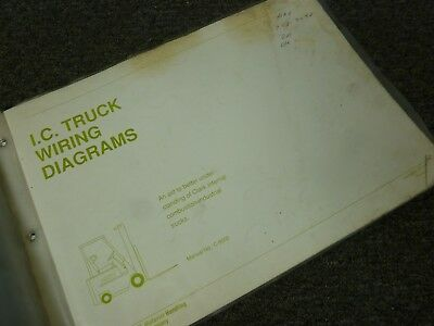 clark cy60 parts manual with electrical diagram $25 00 picclick