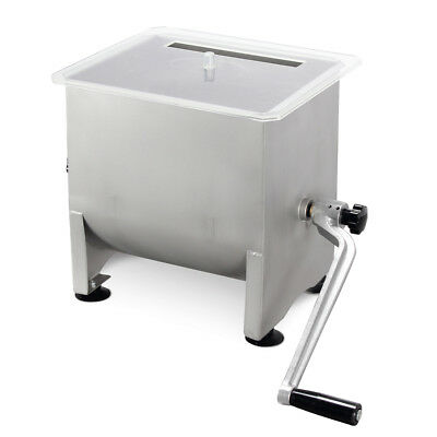 Kitchen Appliance Stainless Steel Manual Meat Mixer Tub 4.2 Gallon, 20 Lbs
