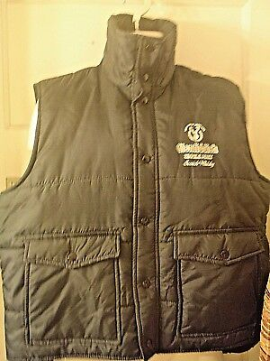 Glenfiddich  Single Malt Scotch Whiskey Outdoor Vest Rare Advertising Large