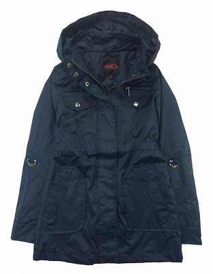 Yoki Big Girls Navy Blue Anorak Jacket Size 7 8/10 12/14 16 $90