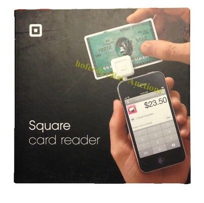 Square Reader Credit Card Terminal Portable NEW Apple Android iPad iPhone