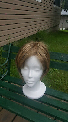 Womens Synthetic Light Brown Wig - 24H18