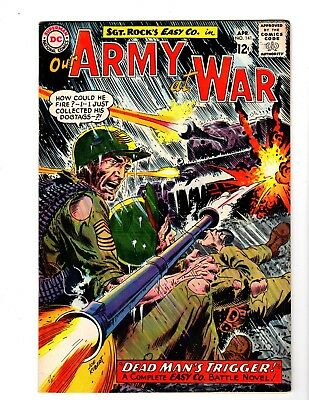 OUR ARMY AT WAR #141 FINE (1964) (1st. Shaker)