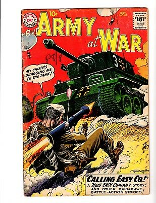 OUR ARMY AT WAR #87 VG (1959)  (Early Sgt. Rock: Kubert Art