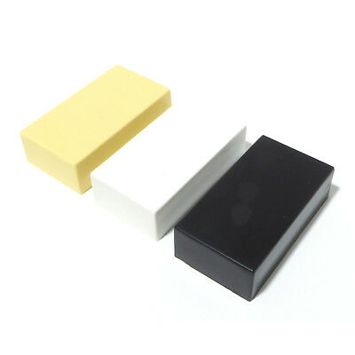 Humbucker Guitar  Pickup Covers Black or White or ivory 69mm x 37.7mm