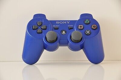 Official Official OEM Sony PS3 Wireless Dualshock 3 Controller Blue
