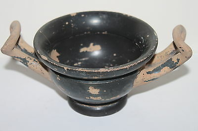 ANCIENT GREEK POTTERY KYLIX 4th  CENTURY BC