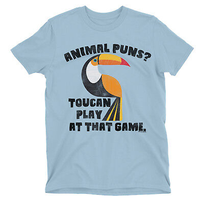 TOUCAN PLAY AT THAT GAME Mens Funny T-Shirt Bird Animal Humour Pun Slogan Top