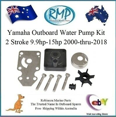 A Brand New Water Pump Kit Suits Yamaha 2 Stroke 9.9hp-15hp # R 63V-W0078-00