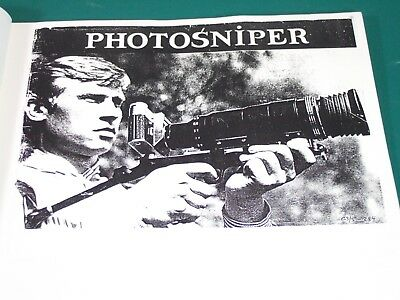 ZENIT PHOTOSNIPER KIT Instructions OWNER'S MANUAL Photocopy - complete 32pp A4