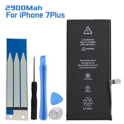 Replacement 2900mAh Internal Battery with Adhesive Tools for Apple iPhone 7 Plus