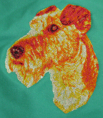 Embroidered Sweatshirt - Irish Terrier DLE1556  Sizes S - XXL