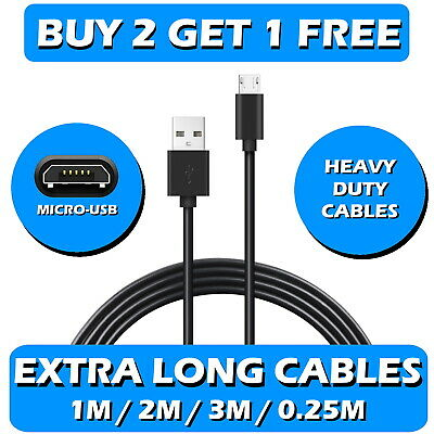 USB Data Charger Cable Lead for Samsung Galaxy Tab Tablet S4 S3 A/E 10.5 8 7 9.7