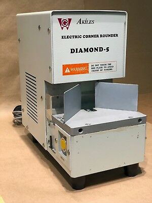 Akiles Diamond 5 corner rounder machine