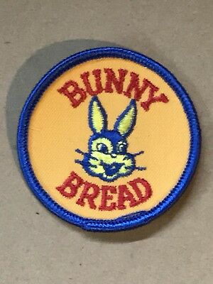 Vintage Uniform Patch Bunny Bread Embroidered UNUSED