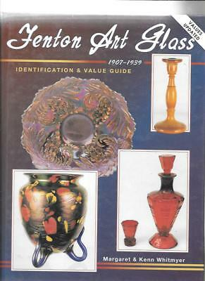 FENTON ART GLASS 1907-1939 PRICE GUIDE by MARGARET & KENN WHITMYER