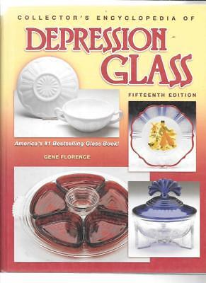 COLLECTOR'S DEPRESSION GLASS PRICE GUIDE by GENE FLORENCE 15th ED