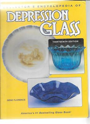 COLLECTOR'S DEPRESSION GLASS PRICE GUIDE by GENE FLORENCE 13th ED