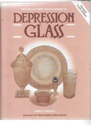 COLLECTOR'S DEPRESSION GLASS PRICE GUIDE by GENE FLORENCE 10th ED