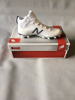 Mens Lacrosse Cleats Size SS US New Balance White / Navy Blue