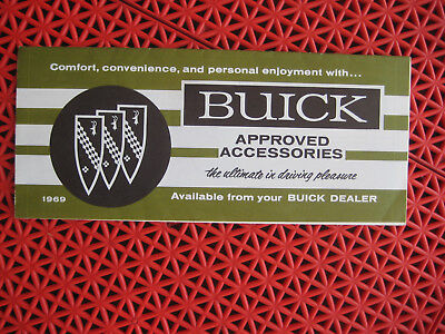 1969 Buick Approved Accessories brochure