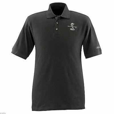 Brand New Ford Mustang Shelby Svt Cobra Gt500 Large Or Xxl Black Polo Shirt!