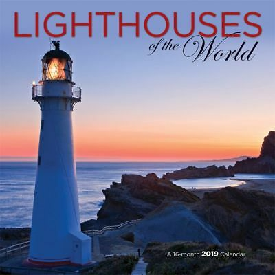 2019 Lighthouses 2019 Wall Calendar, Lighthouse by Wyman Publishing