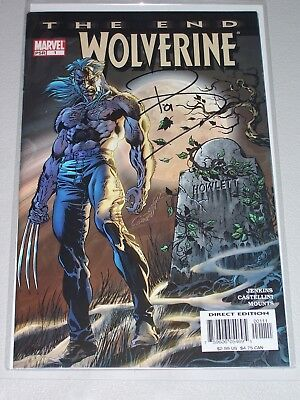 Wolverine The End #1! (2004) Signed by Writer Paul Jenkins! VF! COA!