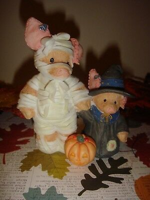 This Little Piggy You Are Such a Treat Mummy!, Halloween Figurine 1995